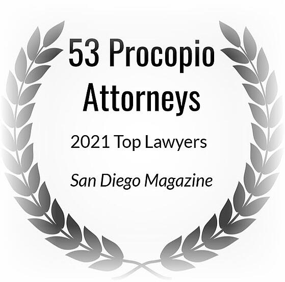 2021 SD Magazine Top Lawyers cube fade