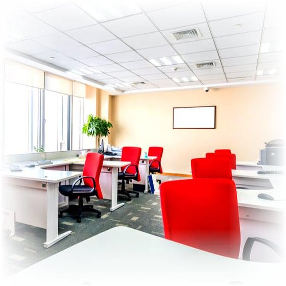 empty office cube