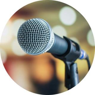 microphone circle
